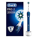Oral-B Pro 2 2000N CrossAction Electric Toothbrush Rechargeable...