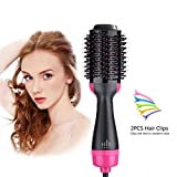 Hot Air Brush,One Step 4-In-1 Hair Dyer Brush,Salon Negative Ion...