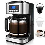 Coffee Maker, Aicok Filter Coffee Machine, 12 Cup Programmable...