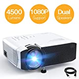 Projector APEMAN Portable Mini Projector 4500 Lumens Support...