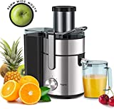 Juicer, Bagotte Upgrade 800W Juicer Machine, 3.3' Wide Mouth...