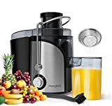 homgeek Juicer, Juicer Machine for Fruits and Vegetables 600W,...