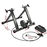Yaheetech Magnetic Turbo Trainer, Variable/Foldable Indoor Bike...