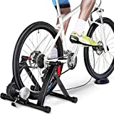 Yaheetech Magnetic Turbo Trainer with Inertia Wheel, Foldable...