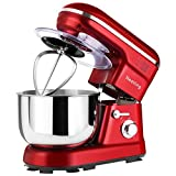 Nestling 1200W Food Stand Mixer with 5L Bowl, 5 Speed Kitchen...