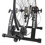 DTX Fitness Adjustable Bicycle Turbo Trainer - Black - Use Your...