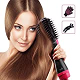 Hiveseen Hair Dryer Brush One Step, 3-in-1 Hot Air Styler and...