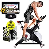 Sportstech Professional Indoor Cycling Exercise Bike SX500 with...