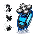 KEMEI Electric Shaver Razor for Men,Bald Head Shaver Rotary 5 in...