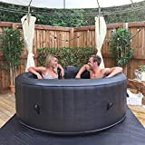 Wido Round Inflatable Spa Hot Tub 300 Air Jets 4 Person Quick...