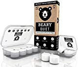 Reusable Ear Plugs for Sleeping by Beary Quiet 6 Pairs Free Case...