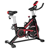 SONGMICS Exercise Bike, Indoor Cycling Bike for Home Fitness and...