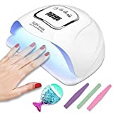 LED UV Nail Lamp Gel Polish Curing 150W Professional Polish...
