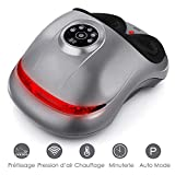 INTEY Shiatsu Foot Massager Machine - Electric Deep Kneading...
