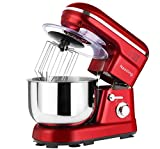 Nestling® 1200W Food Stand Mixer with 5L Bowl, 5 Speed Kitchen...