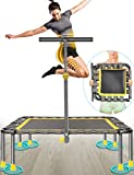 NSN 40' Mini Fitness Trampoline Max. Load 220lbs Safe Silent Easy...