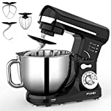 FIMEI Stand Mixer,1000W 5L Dough Mixer, 6 Speeds, Dough Hook &...