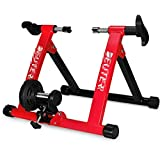 Indoor Bike Turbo Trainer Magnetic Cycling Stand, Heavy Duty...
