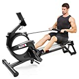 Dripex Magnetic Rowing Machine for Home Use, Super Silent Indoor...