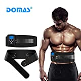 DOMAS Waist Toning Belt - Abs Muscle Training Belt 8 Modes Unisex...