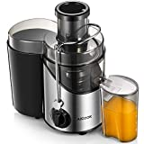 Juicer Machines, Aicook 2020 Upgraded Chopping Blade Wide Mouth...