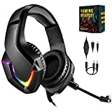 PS4 Gaming Headset with mic for Xbox One PS5 Nintendo Switch PC...