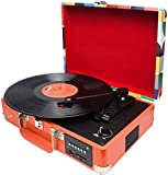 Chargable Briefcase Retro Record Player Bluetooth with speakers...
