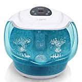 MaxKare Foot Spa/Bath Massagers with Heater Temperature Control...
