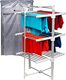 Homefront Electric Heated Clothes Airer Dryer Rack Indoor Deluxe...