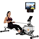 BTM Rowing Machine Home Folding | Silent Magnetic Adjustable...