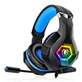 Gaming Headset Stereo Surround Sound Gaming Headphones with...