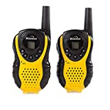 Binatone Latitude 100 Black/Yellow Twin Pack Walkie Talkie with...