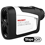 MiLESEEY Golf Rangefinder with Slope On/Off, 660 Yards Range...