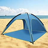 earlyad Beach Tent Sun Shelter with SPF UV 50+ Protection,...