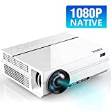 ABOX Native 1080P Projector, 4K Projector Ultra HD Support, Full...