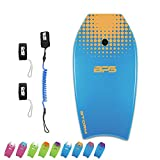 BPS 37' Boogie Board for Beach with Swim Flippers Leash and Body...