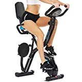 ANCHEER F-Bike and F-Rider, fitness bike and ab trainer with Hand...