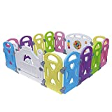 Baby Playpen Kids Activity Centre Safety Play Yard Baby Fence...