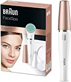 Braun FaceSpa 851V 3-in-1 Face Epilator/Epilation for Face Hair...