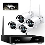 CCTV Camera System, Victure 8CH NVR 4PCS 1080P Outdoor Security...