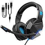Gaming Headset for PS4, PS5, PC, Xbox One, Switch, Ultra Light...