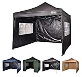 MAXIMUS® HEAVY DUTY GAZEBO 3m x 3m GAZEBO MARKET STALL POP UP...