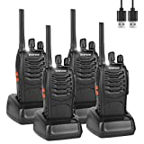 BF-88E Walkie Talkies Rechargeable Long Range, Portable Handheld...