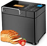 EONBON 17-in-1 Bread Maker with Gluten Free, 2LB Stainless Steel...
