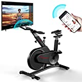 OVICX Exercise Bike with Bluetooth Magnetic Stationary Bike...