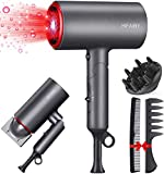 HIFAIRY Professional Hair Dryer, 1800W Powerful Constant...