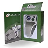 Golfer's Best Tool Golf Multitool All-IN-ONE - Stroke Counter,...