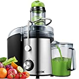 Juicer AICOK 75MM Wide Mouth Juicer Machines Whole Fruit and...