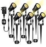 ECOWHO Garden Lights Spotlights Mains Powered 68.9ft 21m Outdoor...