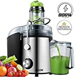 Juicer AICOK 75MM Wide Mouth Juicers Whole Fruit and Vegetable...